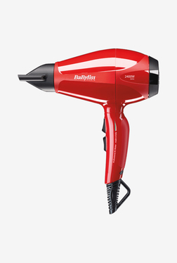 Babyliss 6615SDE 2400W Hair Dryer (Red and Black)