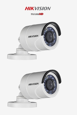 Hikvision Turbo HD DS-2CE1AD0T-IRPF 2 Bullet Camera (White)