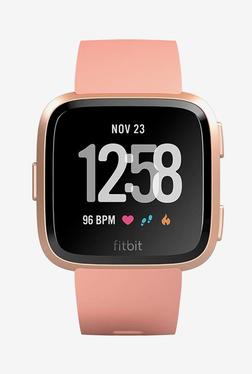 Fitbit Versa Fitness Tracker (Peach)