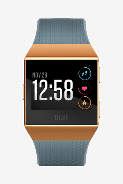 Fitbit Ionic Fitness Tracker (Blue and Orange)