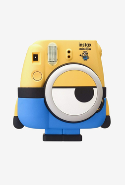 Fujifilm Instax Minion Mini 8 Camera (Yellow and Blue)