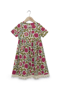 1e0b6cda1f9 Utsa Kids by Westside Pink Floral Print Dress
