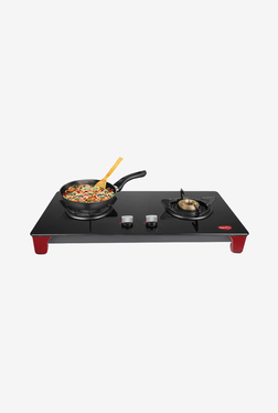 Pigeon Infinity 2 Burner Gas Cooktop (Black)