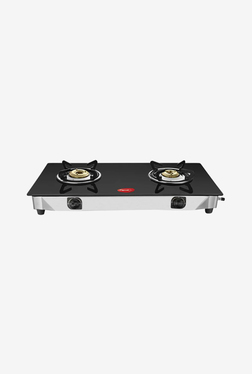 Pigeon Sterling 2 Burner Gas Cooktop (Black)