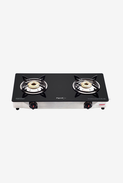 Pigeon Backline Smart 2 Burner Gas Cooktop (Black)