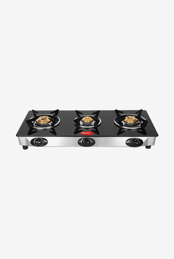Pigeon Favourite 3 Burner Gas Cooktop (Black)