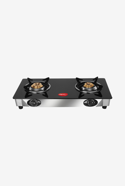 Pigeon Favourite 2 Burner Gas Cooktop (Black)