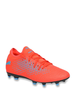d6c172b90e6 Puma Future 19.4 FG AG Red Blast   Blue Azur Football Shoes