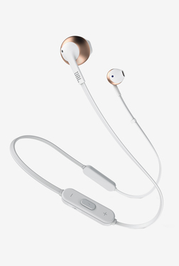 JBL TUNE 205BT Bluetooth Earphones with Mic (Rose Gold/White)