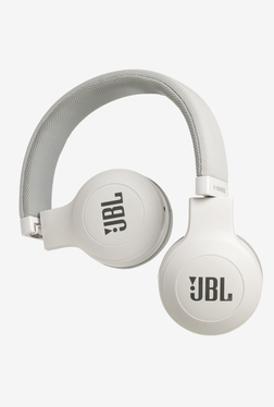 JBL E35 On The Headphones with Mic (White)