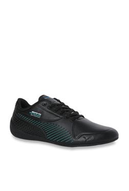 4ca98276297f18 Puma Mercedes MAPM Drift Cat 7S Ultra Black Sneakers