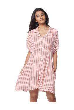 dcabf09f737 Nuon by Westside Rose Stripe Print Irene Dress