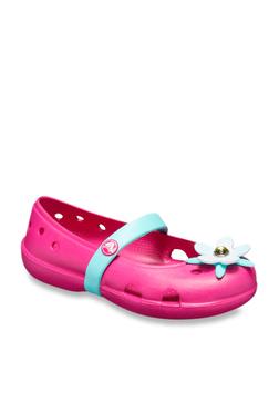be045c765 Crocs Kids Keeley Charm Fuchsia Mary Jane Shoes