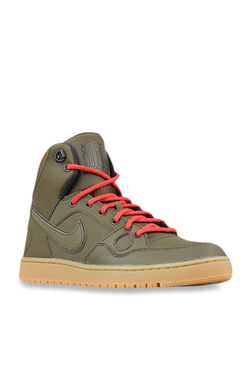 7b1e3fc3ec71 Nike Son Of Force Mid Winter Olive Ankle High Sneakers