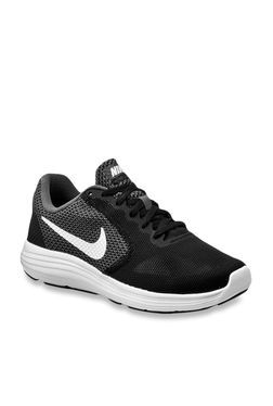 43771017d01 Nike Revolution 3 Dark Grey Running Shoes