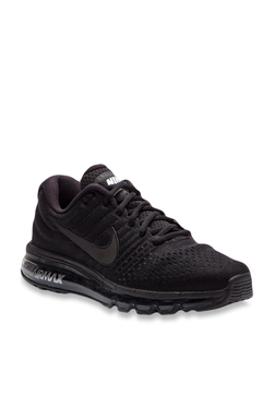 Nike Air Max 2017 Black Running Shoes d110410ce