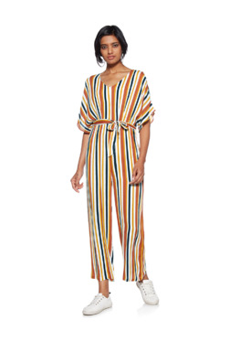c15456f9cdc7 Nuon by Westside Multicolor Maxa Jumpsuit With Belt