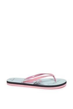 35eda6ea4 LUNA BLU by Westside Pink Flamingo Print Flip-Flops