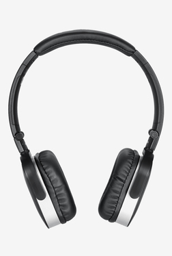 Zoook ZB-ELECTRA On The Ear Bluetooth Headphone (Black/Silver)