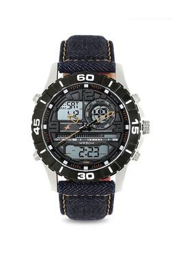c681c3c2915 Fastrack 38035SL06 Denim Analog-Digital Watch for Men