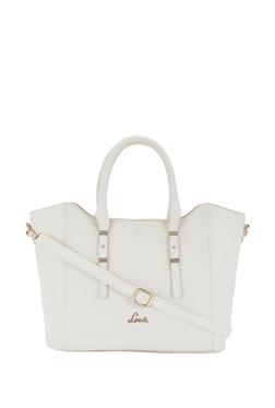 e2ad372a146 Lavie Mirna White Textured Handbag