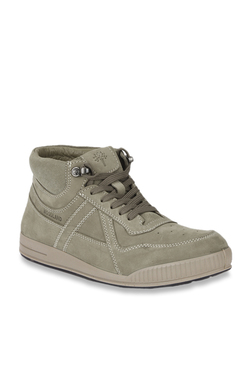 bc81669441d3 Woodland Khaki Ankle High Sneakers
