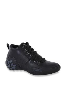ba36fe1bae17 Woodland Black Ankle High Sneakers