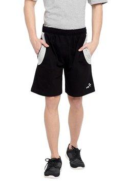04718e3601115a Fitz Black Regular Fit Shorts