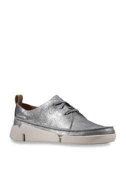 fd702b54de4 Clarks Tri Clara Gun Metal Casual Shoes