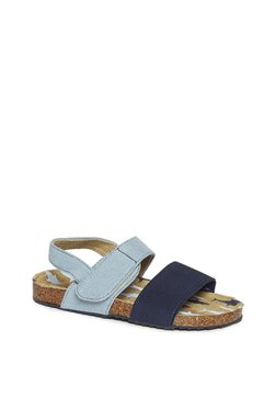 027716461d1 Yellow Kids by Westside Navy Shark Print Sandals