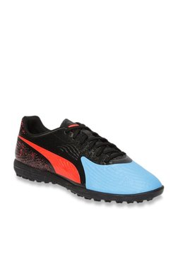 4936eca66247 Puma ONE 19.4 TT Blue Azur   Black Football Shoes