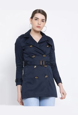 United Colors of Benetton Navy Full Sleeves Jacket cac1c6d734