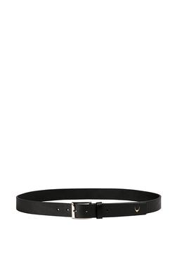 c1ad82233f3 Hidesign Ee Lewis Black Solid Leather Waist Belt