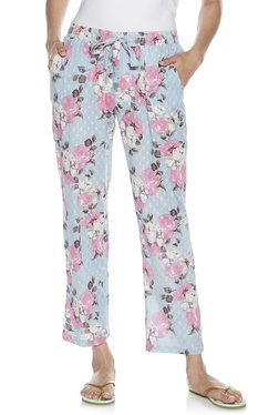 6d7d329ba9 Wunderlove by Westside Light Blue Floral Print Pyjamas