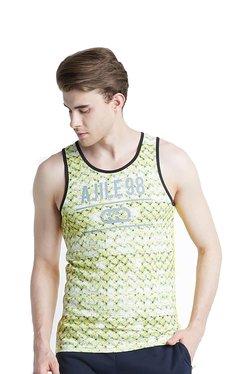 3da9a8e6570 Ajile by Pantaloons Yellow Crew T-Shirt