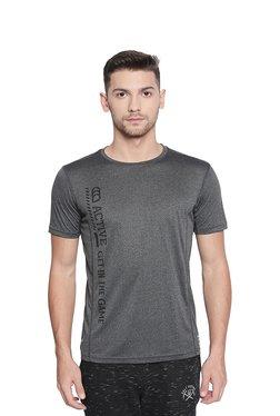 5bf79b2e354 Ajile by Pantaloons Grey Crew T-Shirt