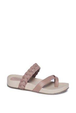 cd5184d31763 LUNA BLU by Westside Pink Cross Strap Sandals