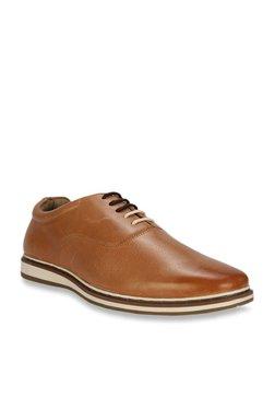 6b9061f6dab Allen Solly Tan Oxford Shoes