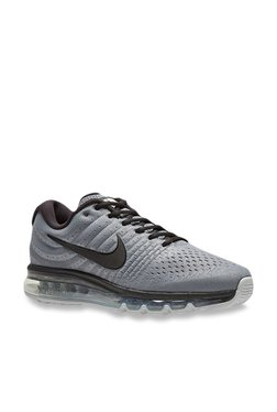 huge discount 0956b 5b746 Nike Air Max 2017 Cool Grey Running Shoes