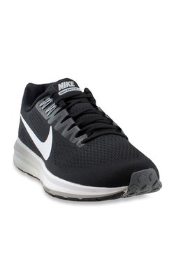 quality design 04ed7 4e0f9 Nike Air Zoom Structure 21 Black Running Shoes