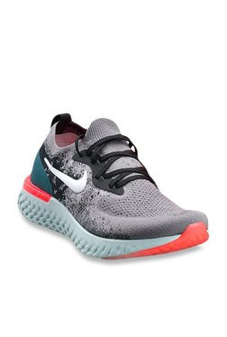 876518e704cc94 Nike Epic React Flyknit Gun Smoke Running Shoes