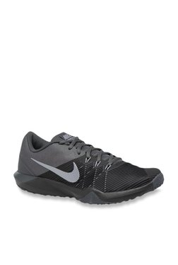 new style 6305a 419f7 Nike Retaliation TR Black Training Shoes