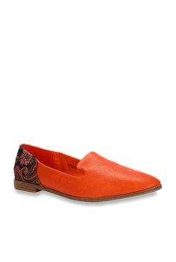 3a0fb34bb5b Allen Solly Orange Loafers