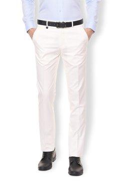 af528068b3 Buy Van Heusen Trousers - Upto 70% Off Online - TATA CLiQ