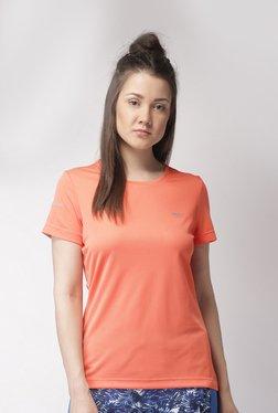 a32455a9f7cfb5 2GO Peach Slim Fit Sports T-Shirt