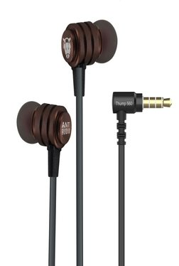 Ant Audio Thump 560 X-Bass Headphone with Mic (Copper Brown)