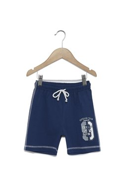 6ebaf485088 Zudio Kids Navy Pure Cotton Shorts