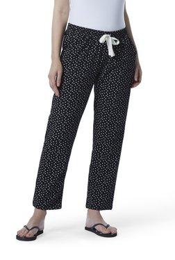 4ef154c22 Wunderlove by Westside Black Snowflake Print Pyjamas