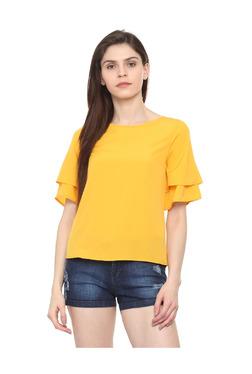c38d0b7032fa81 Tops for Women Online | Buy Ladies Tops, Tunics, Tank Tops - TATA CLiQ