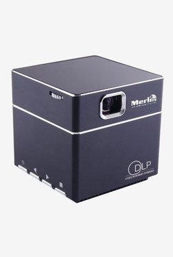 Merlin Cube Mobile Projector (Black)